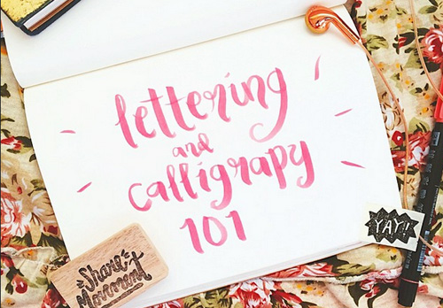 Lettering and Calligraphy Hype Cover