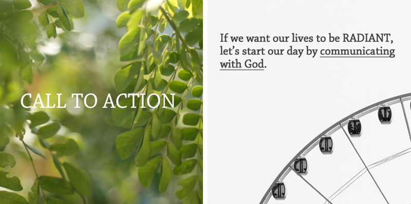 Call To Action (Radiant Life) 1